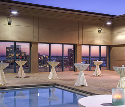 Hyatt Rooftop Pool