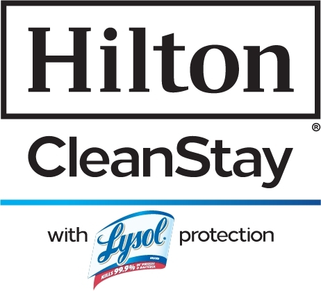 Hilton CleanStay with Lysol
